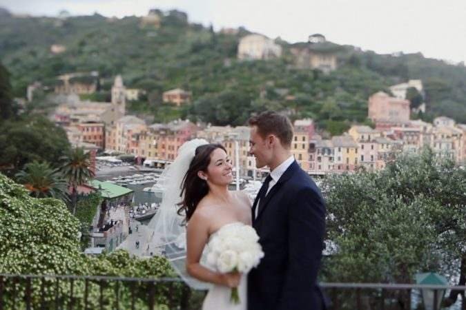 Wedding video in Portofino - Italy // Lisa & David