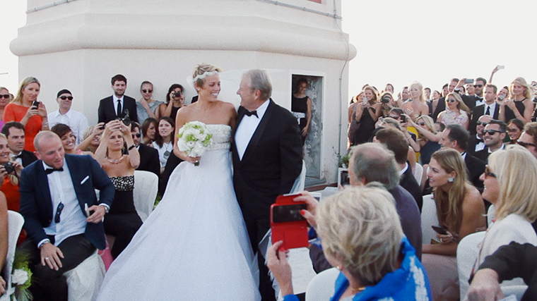 Wedding video in Capri