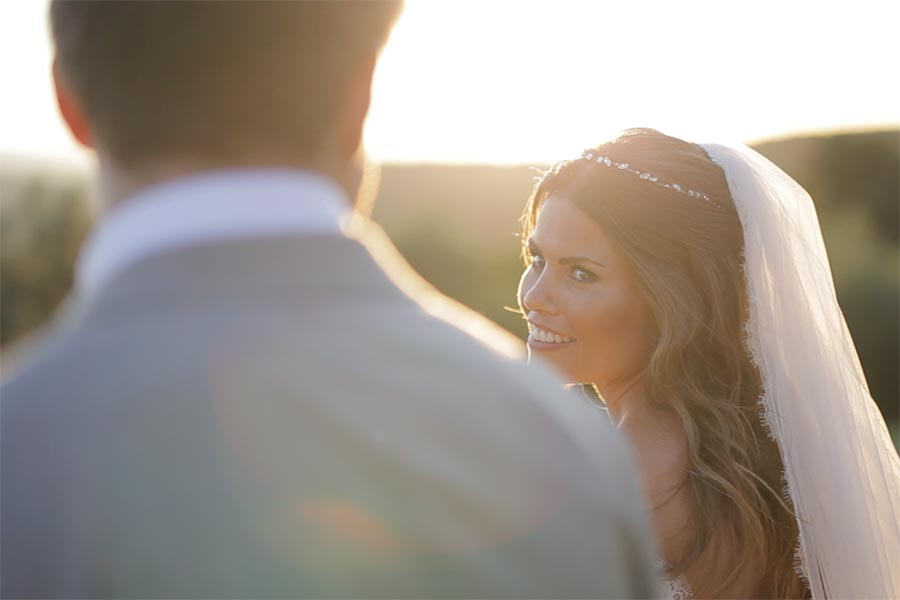 Wedding videography in Tuscany