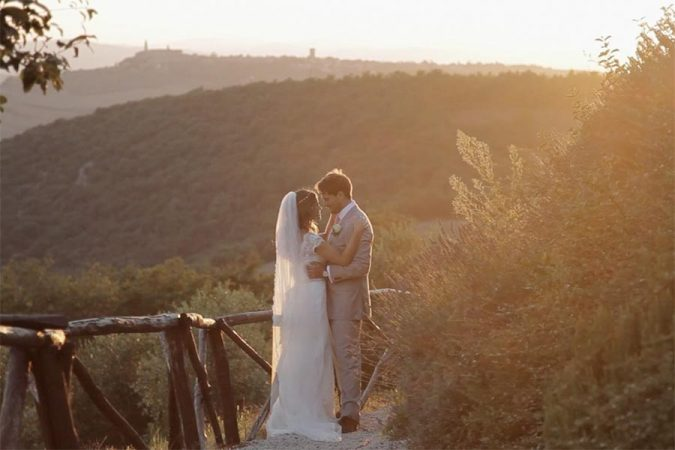 Wedding videography in Tuscany – Pienza // Shanna&Danny