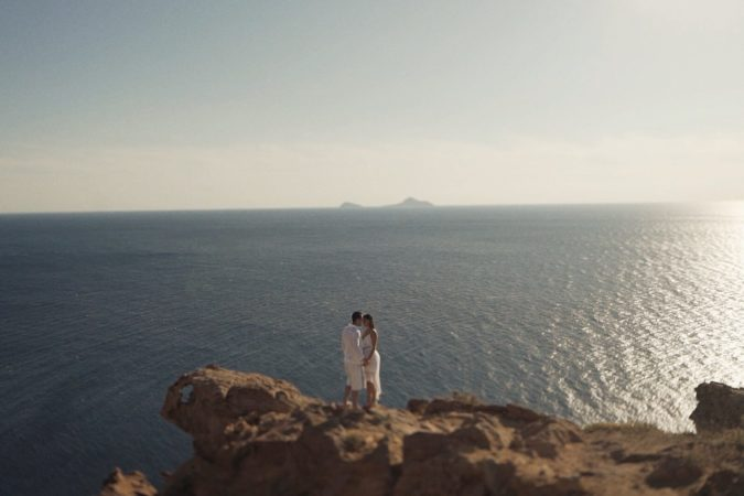 Engagement in Santorini // Greece [sneak peek]